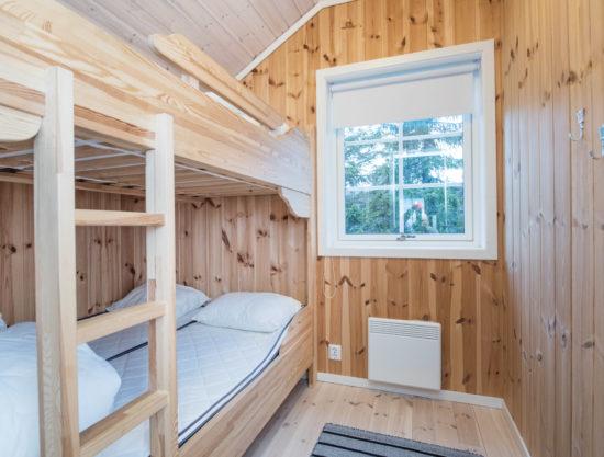 Bilde av soverom med køyeseng - Fagerhøy 1181- Lei hytte i Trysil