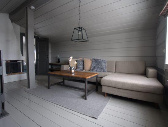 Bilde av stue med peis - Drengestue 1105B - hytte i Trysil