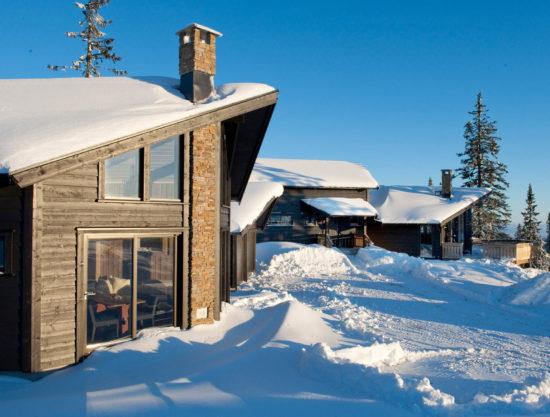 fasade, hytte i Trysil til leie, Ugla 982 anneks