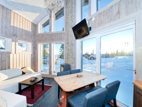 livingroom, cabin to rent in Trysil, Ugla 982 anneks