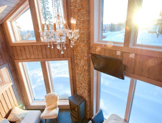 living room, cabin to rent in Trysil, Ugla 982 anneks