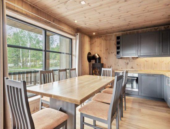kjøkken og spisebord, leilighet til leie i Trysil, Trysiltunet 20B