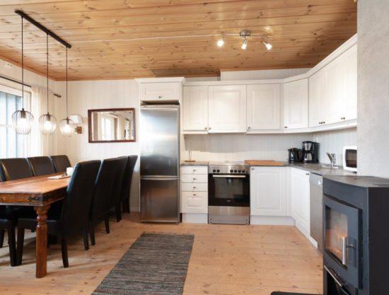 kjøkken, leilighet i Trysil til leie, Utsikten 785A