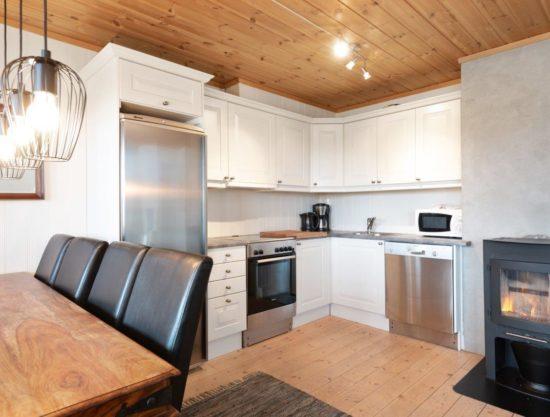 kjøkken, Lei leilighet i Trysil - Panorama 754B