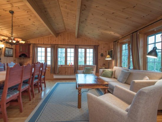 stor stue, hytte i Trysil til leie, Rådyrstien 13