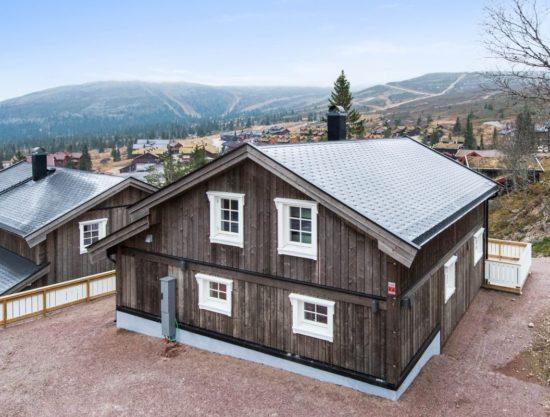 fasade, hytte i Trysil til leie, Skurufjellet 1141
