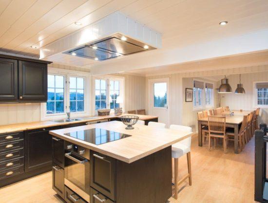 kitchen, cabin to rent in Trysil, Storsten 730