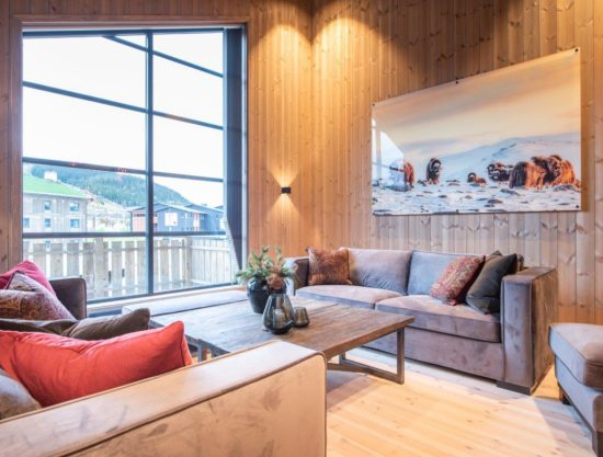 livingroom, apartment to rent in Trysil, Trysiltunet 28D