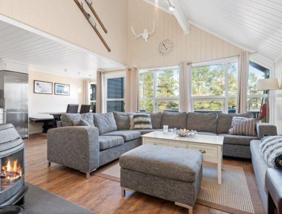 stue, peis, leilighet til leie i Trysil, Trysil Alpin 34B