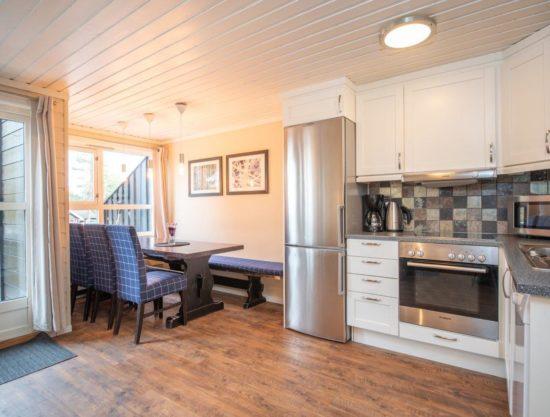 kjøkken og spiseplass, leilighet til leie i Trysil, Trysil Alpin 34A