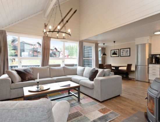 stor stue, leilighet til leie i Trysil, Trysil Alpin 40A