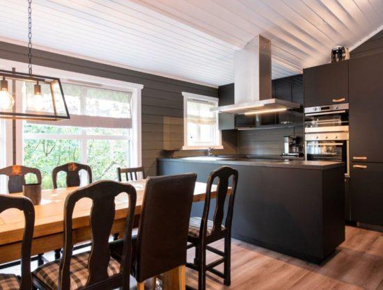 moderne kjøkken, leilighet i Trysil til leie, Trysil Alpin 45
