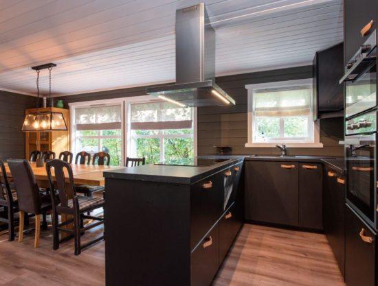 kjøkken og spiseplass, leilighet i Trysil til leie, Trysil Alpin 45
