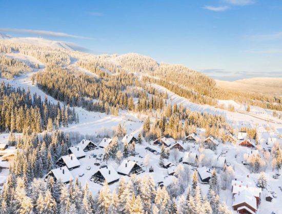 Bilde av Trysil Turistsenter, ligger sentralt i Trysil med ski in/ski out