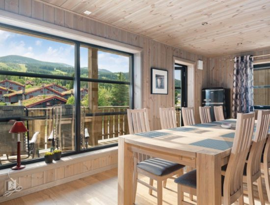 dinner table, apartment to rent in Trysil, Trysiltunet 12C