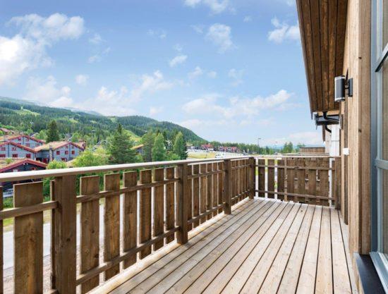 terrasse, leilighet til leie i Trysil, Trysiltunet 12C