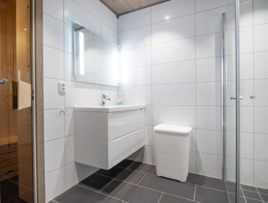 bathroom with sauna, apartment to rent in Trysil, Trysiltunet 18A