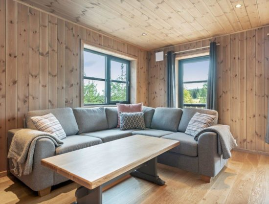 living room, apartment to rent in Trysil, Trysiltunet 20D