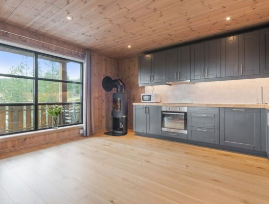 kitchen, apartment to rent in Trysil, Trysiltunet 22D