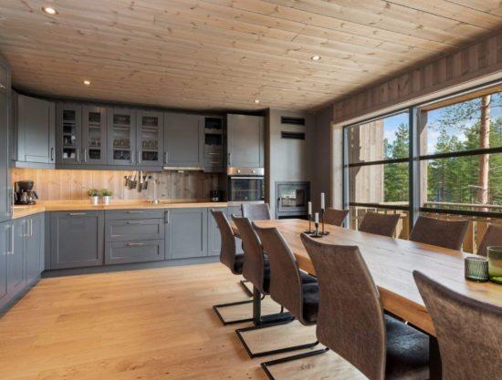 Bilde kjøkken - Lei leilighet i Trysil - Trysiltunet 24C