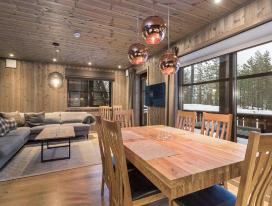 spiseplass og stue, leilighet til leie i Trysil, Trysiltunet 24B