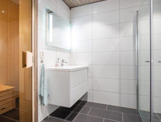 bad og badstue, soverom, leilighet til leie i Trysil, Trysiltunet 26A