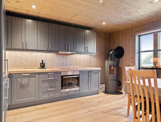 kjøkken, leilighet til leie i Trysil, Trysiltunet 6C