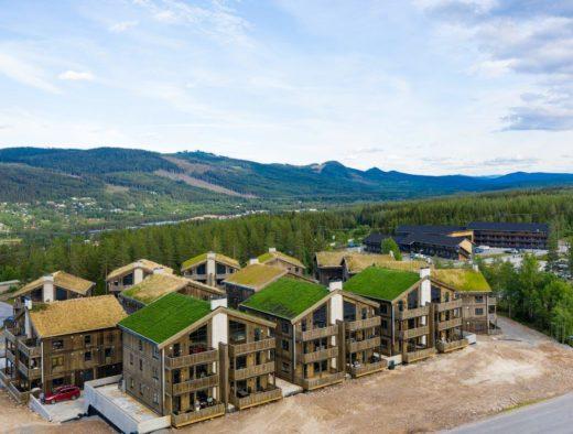 Bilde av Trysiltunet som ligger sentralt ved Trysil Turistsenter - booktrysilonline