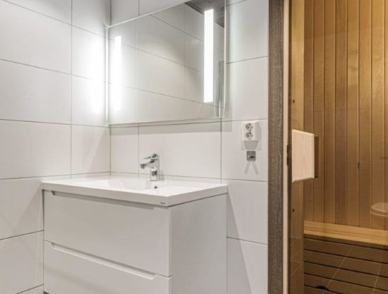 bathroom with sauna, apartment to rent in Trysil, Trysiltunet 16A