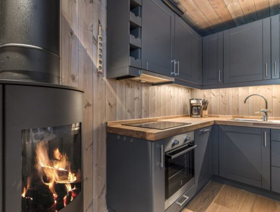 kitchen, apartment to rent in Trysil, Trysiltunet 4B