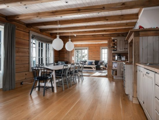 kitchen and linvingroom, cabin to rent in Trysil, Ugla 978
