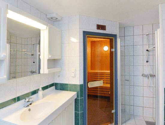 bathroom with sauna, apartment to rent in Trysil, bakkebygrenda7a