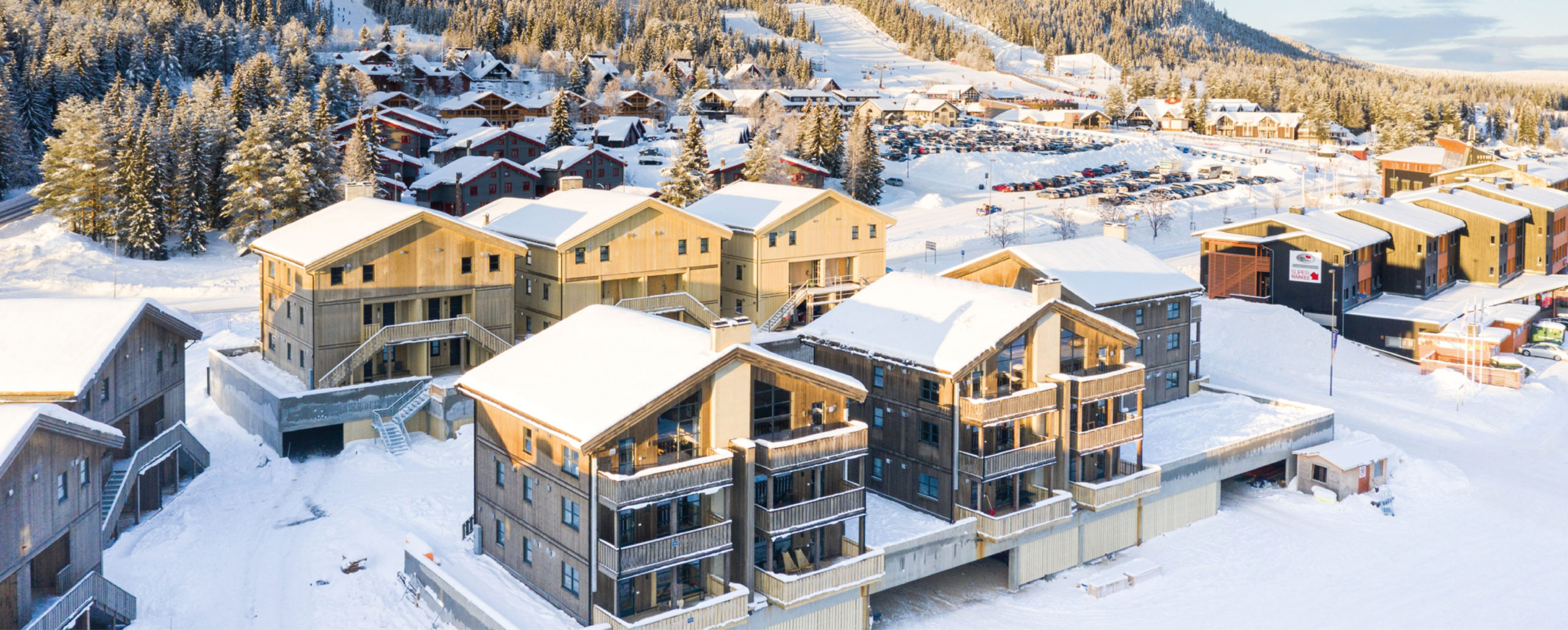 Picture of all the apartments to rent in Trysiltiunet, Trysil, Norway