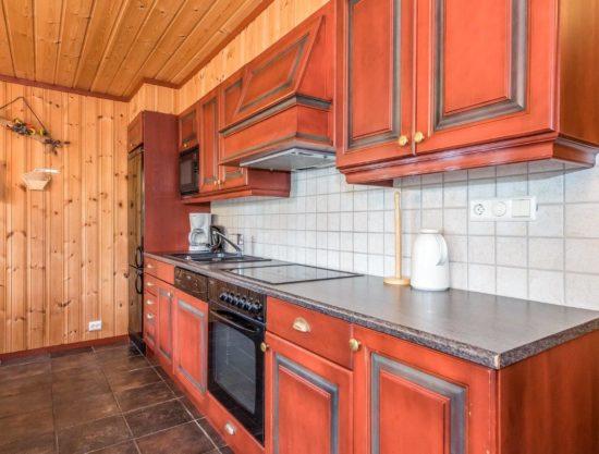 kjøkken, leilighet i Trysil til leie, Lisetra 718C