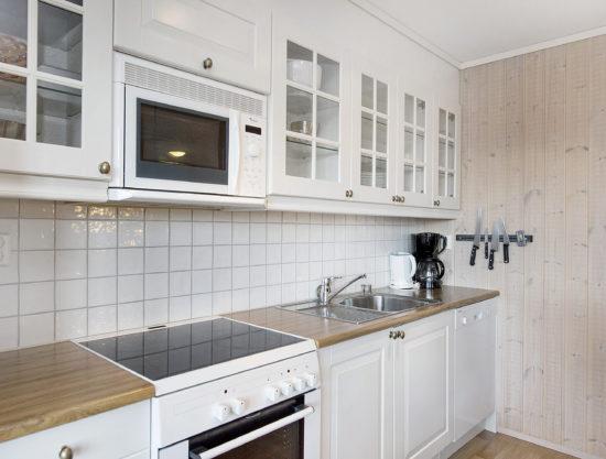 kjøkken, leilighet i Trysil til leie, Snøhvit 1188A