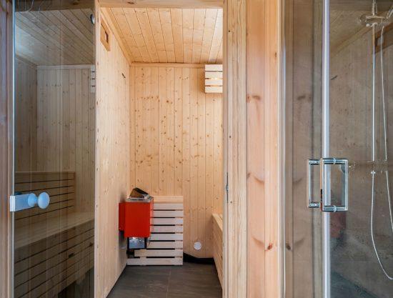 badstue fra bad - Hytte 589 - Lei hytte i Trysil