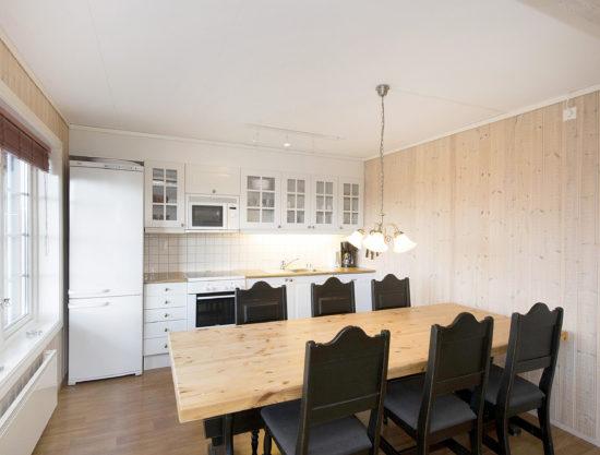 spisebord, leilighet i Trysil til leie, Snøhvit 1188A