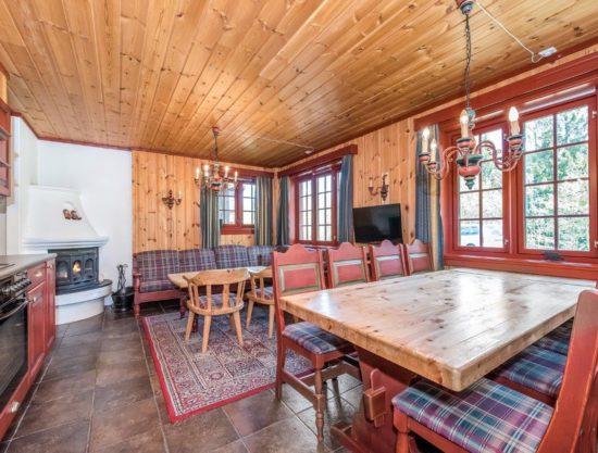 stue og kjøkken, leilighet i Trysil til leie, Lisetra 718C
