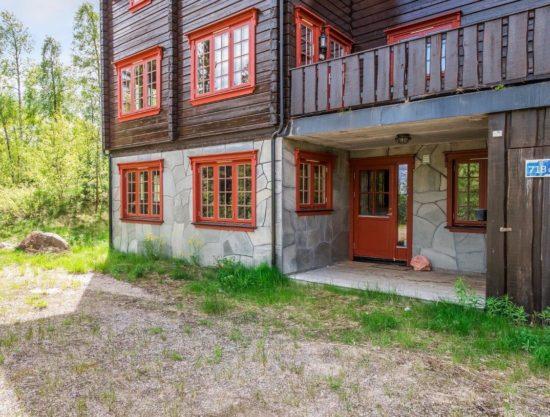 fasade, leilighet i Trysil til leie, Lisetra 718C