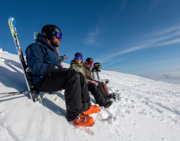 folk i skibakken i Trysil, bookTrysilonline