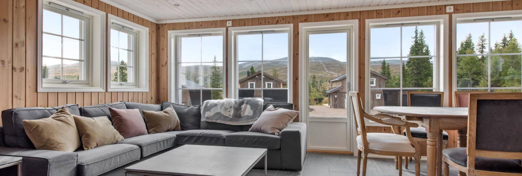 Bilde av stue - Fageråsen 922A - Lei hytte i Trysil
