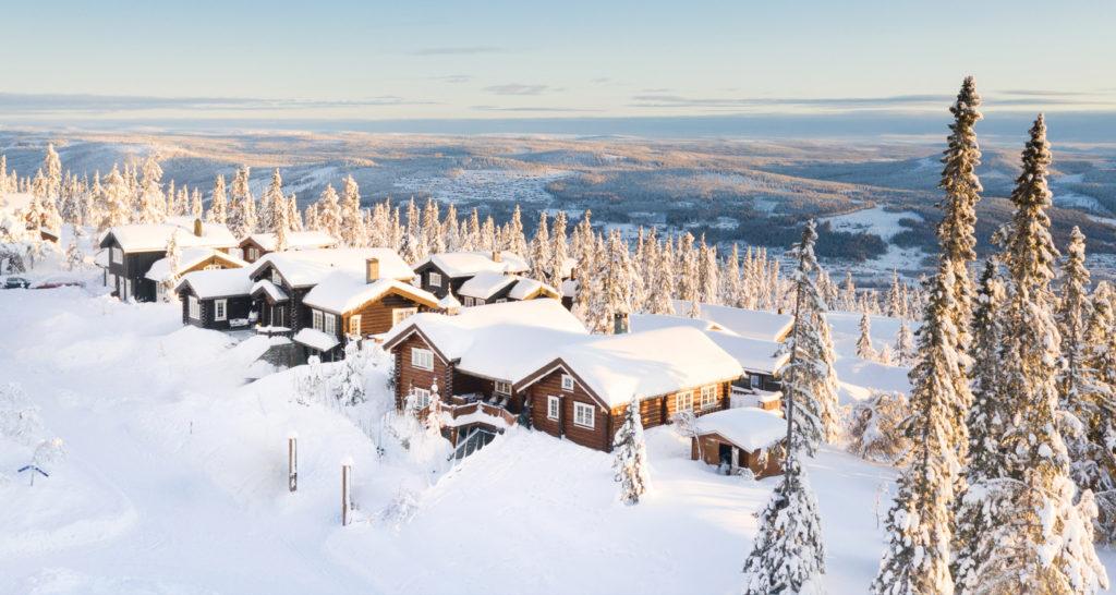 Bilde av Trysilfjell hytteområde i Trysil - bookTrysilonline