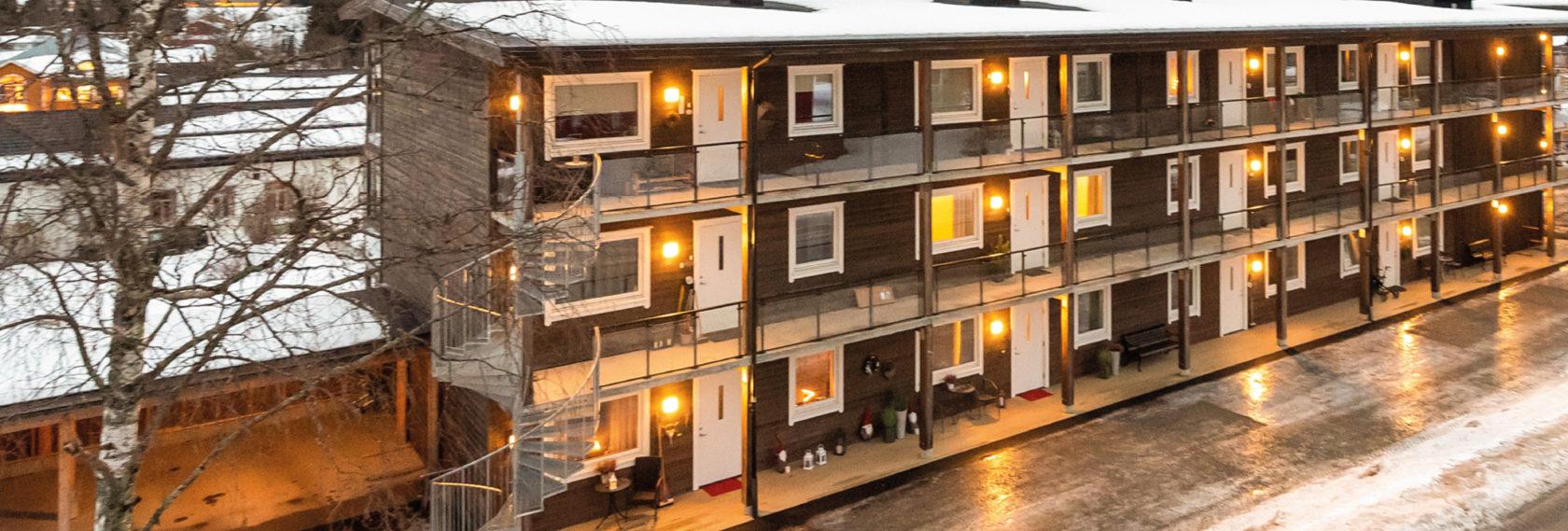 Bilde av leiligheter til leie i Trysil sentrum via booktrysilonline