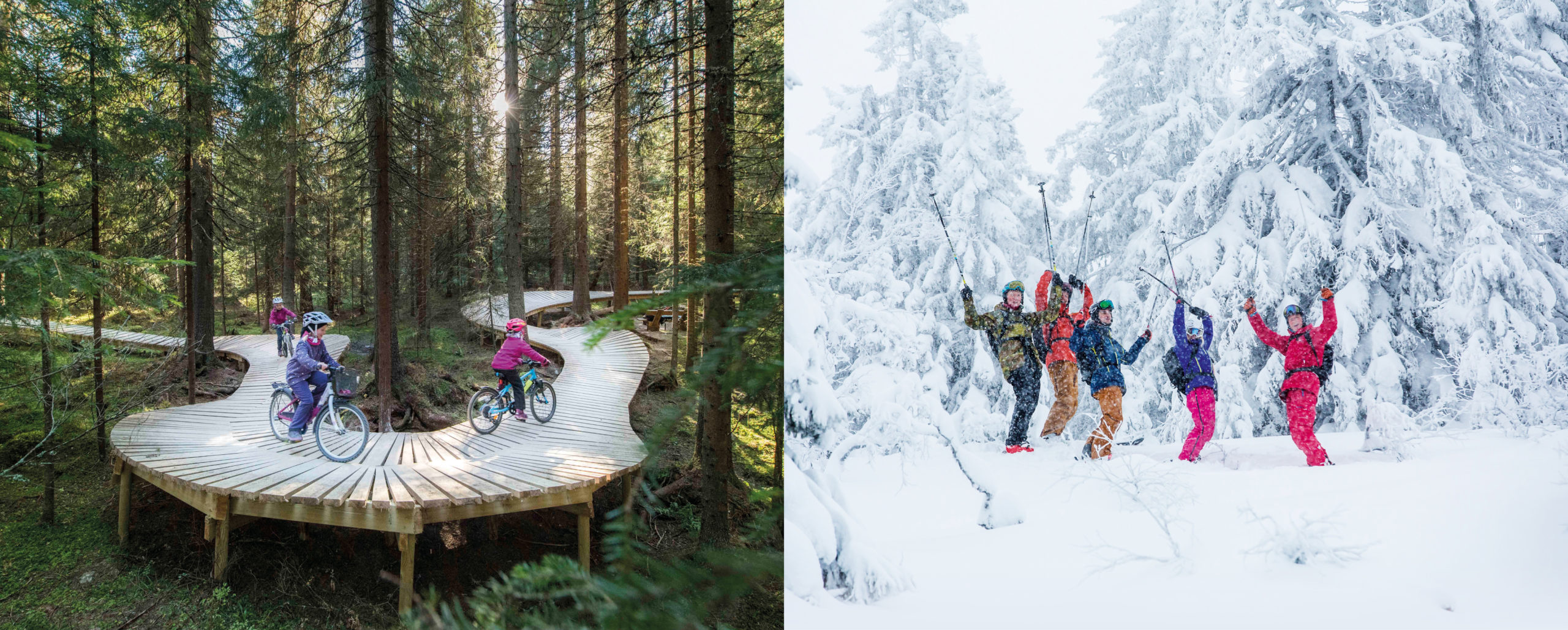 Family favorites in Trysil - summer and winter