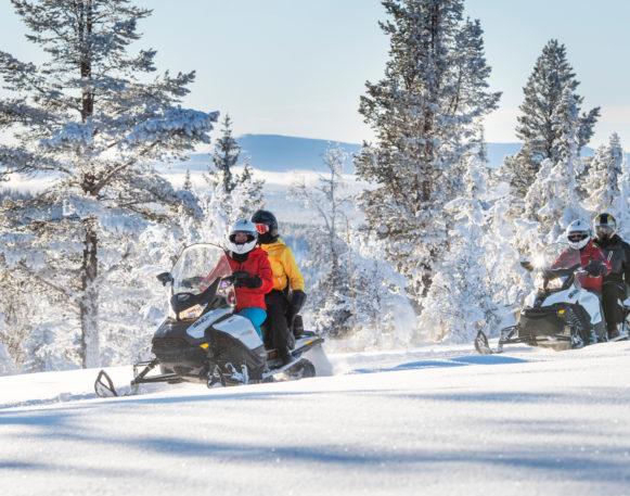 Flere på snøscootertur i Engerdal/Trysil, bookTrysilonline
