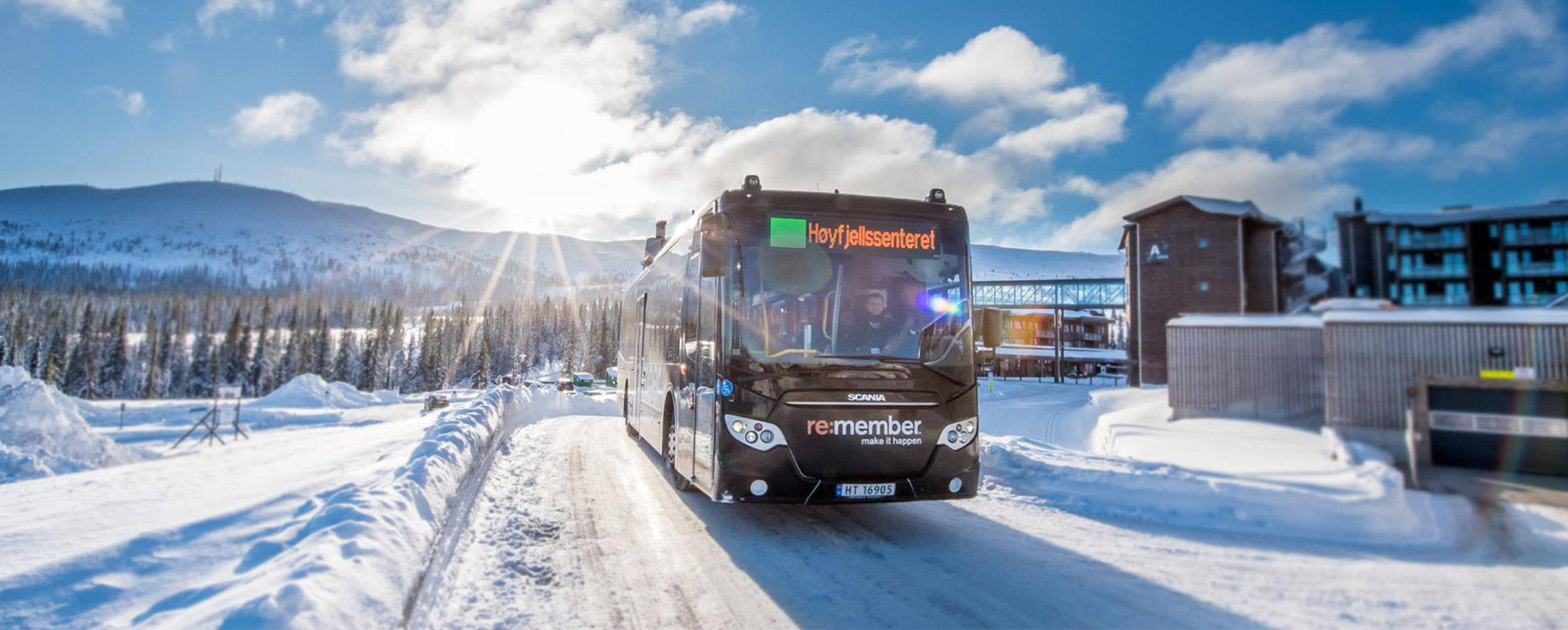 Picture of Trysil ski bus